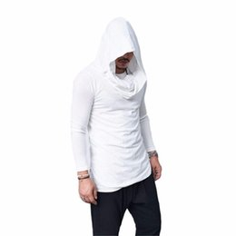 sweatshirt hoodie assassin's creed NZ - Mens sweatshirt hoodie solid hooded sweatshirts men hoody tracksuit pullovers male Assassin's Creed black long sleeves hoodies