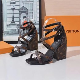 Shoes Genuine Fur Australia - 2019 hot new Genuine wedge &#76OUIS &#86UITTON &#71ucci women's high heels Genuine Leather dress sexy ladies leather high heels shoes