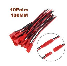 $enCountryForm.capitalKeyWord Australia - 2 10Pairs 100 150mm 2 Pin Connector Plug JST Cable Male Female Connectors For RC BEC Battery Helicopter DIY FPV Drone Quadcopter