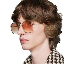 big square sunglasses for men Australia - 2019 Big Square Sunglasses Men Oversize Sunglasses Women Vintage Big Frame Shades for Women Brand Designer Sun Glasses UV400