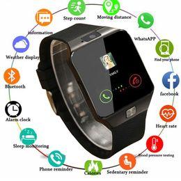 Men Digital Wrist Watches Australia - New Smartwatch Intelligent Digital Sport Gold Smart Watch Pedometer For Phone Android Wrist Watch Men Women's Reloj