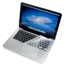 Wholesale Laptop Drop Shipping Australia - OMESHIN New Silicone Thin Clear KeyBoard Cover Skin For MacBook for Old Macbook Pro 13 15 17 Drop Ship YE3.14