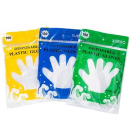 Gloves for cookinG online shopping - Disposable Transparent Plastic Gloves For Food Cleaning Dinning Beauty Home Kitchen Restaurant Cooking Catering Hygiene Eco friendly LJJR182
