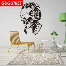 $enCountryForm.capitalKeyWord Australia - Decorate Home skull cartoon art wall sticker decoration Decals mural painting Removable Decor Wallpaper G-1903