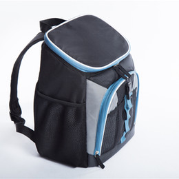 $enCountryForm.capitalKeyWord Australia - Black oxford big cooler bag thermo lunch picnic box insulated cool backpack ice pack car fresh carrier thermal shoulder bags