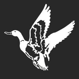 $enCountryForm.capitalKeyWord Australia - Flying Duck Hunter Hunting Car Laptop Bumper Window Vinyl Decal Sticker Cute And Interesting Fashion Sticker Decals