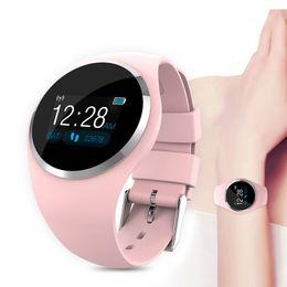 $enCountryForm.capitalKeyWord Australia - Bluetooth Lady Smart Watch Fashion Women Heart Rate Monitor Fitness Tracker Smart Bracelet ladies band For Android IOS