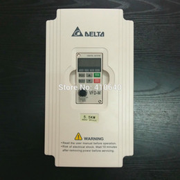 Delta Alloys Australia - Delta Inverter 5.5 KW VFD055M43A 3 Phase 380V to 460V Rated 13A 100% New 5500W VFD Series Invertor Variable Speed AC Motor Drive