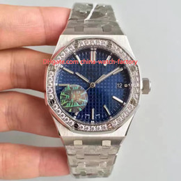 Discount mens red diamond watch - 6 Style Hot Selling Best Quality Diamond CAL.3120 Movement 41mm Offshore 15400 15400ST.OO.1220ST.01 02 03 Automatic Mens