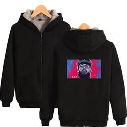Pink Zipper Hoodies Australia - Nipsey Hussle Winter Hoodies Black Music Culture Pop HipHopRapper Zipper Sweatshirts Warm Fashion Casual Hoodies