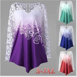 Wholesale silk screen printing shirts for sale – custom large women s printed multi color multi size large Lace silk screen t shirt silk screen size women s lace printed T shirt multi color multi