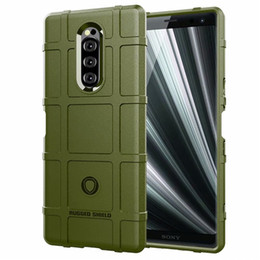 $enCountryForm.capitalKeyWord Australia - For Sony Xperia XZ4 XZ4 Compact Mini Case Cover Soft Hybrid Armor Silicone Rubber Rugged Matte Finished Non-Fingerprint Shield Air Cushion