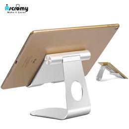 $enCountryForm.capitalKeyWord Australia - Ascromy Tablet Stand Pro 2018 Adjustable Aluminum Metal Desktop Holder For Iphone Ipad Air Mini Samsung Tab Accessories Q190618