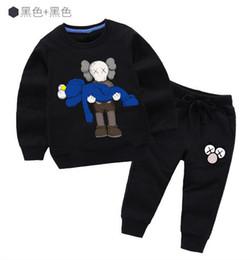 $enCountryForm.capitalKeyWord UK - Classic Luxury Logo Designer Baby t-shirt Pants coat jacekt hoodle sweater olde Suit Kids fashion Children's 2pcs Cotton Clothing Sets X216