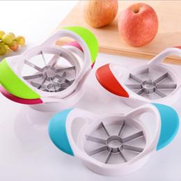 $enCountryForm.capitalKeyWord Australia - Apple Slicer Kitchen Gadgets Corer Slicer Easy Cutter Cut Fruit Knife Cutter for Apple Pear Fruit Cooking Tool Home Dining Cook Diner