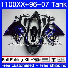 $enCountryForm.capitalKeyWord Australia - +Tank For HONDA Blackbird CBR1100 XX CBR1100XX Blue flames hot 96 97 98 99 00 01 271HM.9 CBR 1100XX 1996 1997 1998 1999 2000 2001 Fairings
