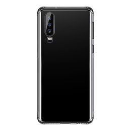 Baseus Cases Australia - Baseus Simply Case Huawei For P30 Pro Luxury Phone Case Ultra Thin Slim TPU Back Cover Case Protective Shell