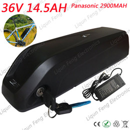 $enCountryForm.capitalKeyWord Australia - 36V 15Ah Hailong lithium ion battery pack use for Panasonic 2900mah cell 36V 15Ah Bike battery pack li-ion battery 2A charger.