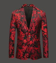 size 6xl suit NZ - S-6XL New Men clothing fashion embroidery singer DS DJ suit jacket leisure stylist costumes plus size get married formal dress