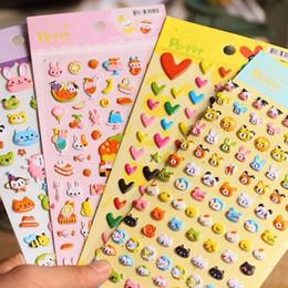 $enCountryForm.capitalKeyWord Australia - 20packs lot Cartoon Kawaii 3D Animal Kingdom series sticker Decoration label scrapbooking stickers office school supplies