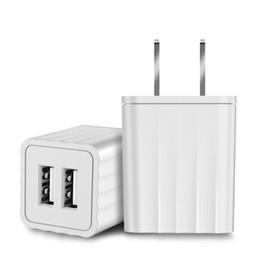 $enCountryForm.capitalKeyWord Australia - universal travel charger 2 port USB Wall Charger 2.1A Dual Port USB Cube Power Adapter Wall Charger Plug Charging Block Cube