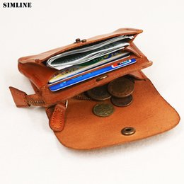 $enCountryForm.capitalKeyWord Australia - Simline Genuine Leather Wallet Women Vintage Handmade Female Short Small Wallets Coin Purse Card Holder Case With Zipper Pocket Y19052302