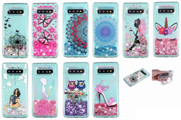 sparkle galaxy note cases 2019 - Bling Liquid Soft TPU Case For Huawei P30 Pro Honor 8X 10 Lite Galaxy S10 Plus S10e Sparkle Fairy Butterfly Dog Owl Glit