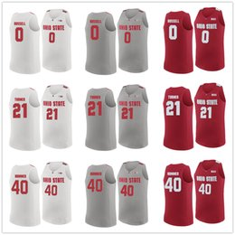 c3f05d593df D'Angelo Russell #0 Evan Turner #21 Danny Hummer #40 OSU Ohio State  Buckeyes College Retro Basketball Jerseys Men's Stitched Custom Any Name