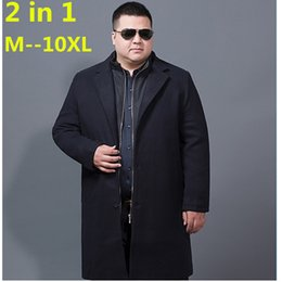 $enCountryForm.capitalKeyWord Australia - Men's Wool Coats & Jackets Winter Cashmere Jacket Man Long Section Single Breasted Overcoat Turn-down Collar Casual Woolen Coat
