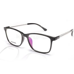 Clear Computer online shopping - Computer goggles Frame for Men and Women Spectacle Frame Blue lens Eyeglasses Anti UV Anti Blue Light Glasses LJJV410