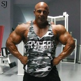 $enCountryForm.capitalKeyWord NZ - Camouflage Print Singlets Mens Tank Tops Shirt,bodybuilding Equipment Fitness Men's Golds Stringer Tank Top Brand Clothes C19041301