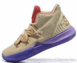 reputable site 1e8e5 15250 2019 Designer Concepts x 5 Ikhet Starry Sky Kyrie Mens Basketball Shoes  Sneakers Schuhe 5s Taco Sports Man Trainers Baskets Chausseures
