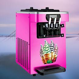 Großhandel 18-22L / H Frozen Yogurt Eiscreme-Hersteller mit LCD-Display für Gewerbe Softeis-Maschine