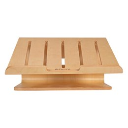 Hp Laptop Wholesalers Australia - SZAICHGSI Cooling Wooden Laptop Computer Notebook Wood Stand Holder Support Radiator For Apple Macbook HP Notebook Computer