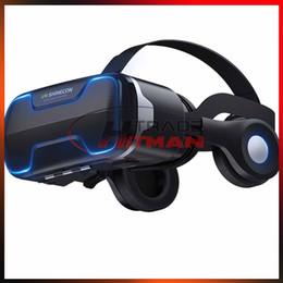 $enCountryForm.capitalKeyWord Australia - VR Shinecon G02ED Earphone Headset Stereo 3D Virtual Reality Glass Smartphone VR Box For Android IOS Samsung iPhone Cellphone
