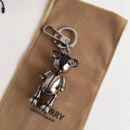 $enCountryForm.capitalKeyWord Australia - Designer fashion accessories bur Teddy bear handbag pendant LittleYa; bag and keychain car key accessories full original packaging