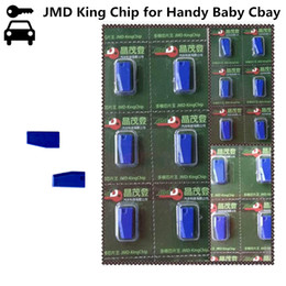 key cloning programmer Canada - Original Universal JMD Blue King Chip for Handy Baby Cbay Key Programmer for 46 48 4C 4D G 47 48 Chip JMD Blue King Clone