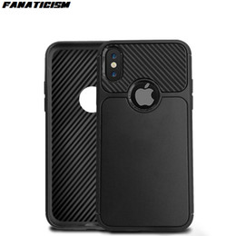 $enCountryForm.capitalKeyWord Australia - High Quality Grid Carbon Fiber Design Soft Rubber Silicone TPU Phone Cases Cover For iphone XR X XS Max 6 7 8 Plus