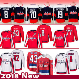 256878ccde9 Capital jerseys online shopping - 8 Alex Ovechkin Tom Wilson Washington  Capitals Hockey Jersey Evgeny Kuznetsov