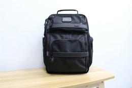 Wholesale Nylon men s business travel backpack large capacity size height width bottom thickness