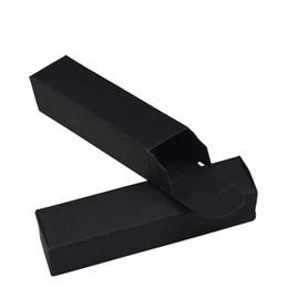 $enCountryForm.capitalKeyWord Australia - DHL Shipping 2*2*8.5cm Black Gift Packaging Kraft Paper Box Retail DIY Lipstick Wedding Favor Decorative Package Paperboard Boxes 500pcs lot