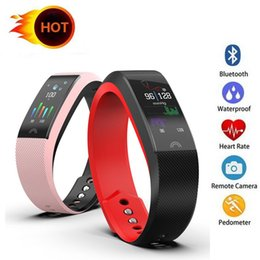 pulse heart rate watch band Australia - Smart Bracelet F6 Smart Band Heart Rate Watch Activity Fitness Tracker Smart Watch Wristband for phone watch band with Box 20X
