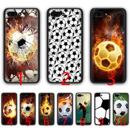 $enCountryForm.capitalKeyWord Australia - Fire Football Soccer Ball Soft Silicone Black TPU Phone Case for Huawei Honor 6A 7A Pro 7C 7X 8X 8 9 10 Lite