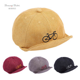 $enCountryForm.capitalKeyWord Australia - New baby hats cute newborn hats boys baseball hat baby designer hat autumn winter infant caps boys peaked cap boys ball cap A7955