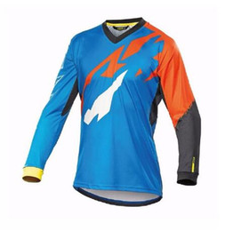 Pink Clothing Women UK - 2019 New MAVIC Downhill Jersey Crossmax Ciclismo Clothes for Men MTB T Shirt Breathable Light Quick Dry Long Sleeve Jersey D