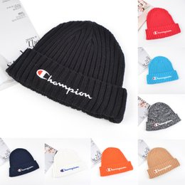 $enCountryForm.capitalKeyWord Australia - 8 colors C Letter Embroidered knitted hats Women Men Winter Knitted Woolen Hat Fashion Outdoor Street Caps DHL BJY676