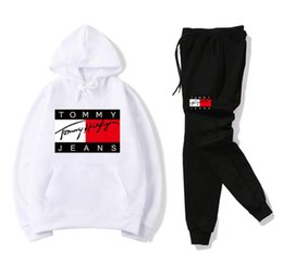 New Arrival Fashion Suit Woman Australia - New arrival top Tracksuit Men Sweat Suits Autumn Mens Jogger Suits Jacket Pants Sets Sporting WOMEN Suit Hip Hop Sets