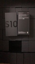 Vente en gros Date de haute qualité version US / EU / UK vide boîte d'emballage de téléphone pour Samsung Galaxy S10 s10e s10 plus