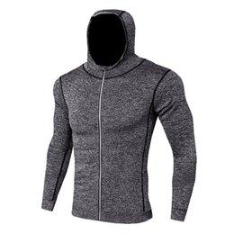 $enCountryForm.capitalKeyWord UK - Wholesale 2019 New Fashion Running Jackets Mens Fitness Long Sleeves Bodybuilding Skin Tops Hoodie Sweatshirts Blouse