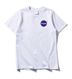 c0d08a9cc8 2019 New NASA Space Tshirt Retro Men T-shirt Brand Shirts Fashion Tide Nasa  Print T Shirt Men Short Sleeve T-shirt Summer Wear